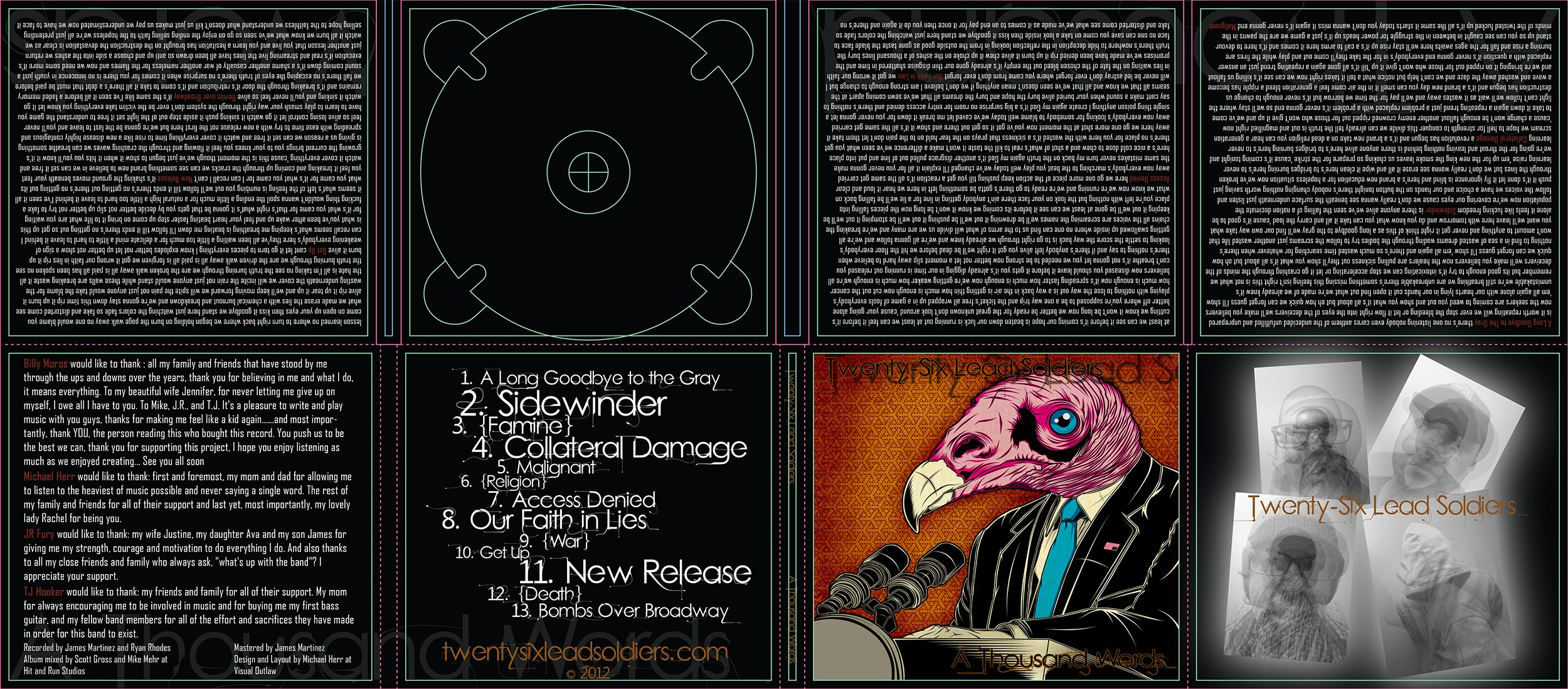 CD Packaging Layout