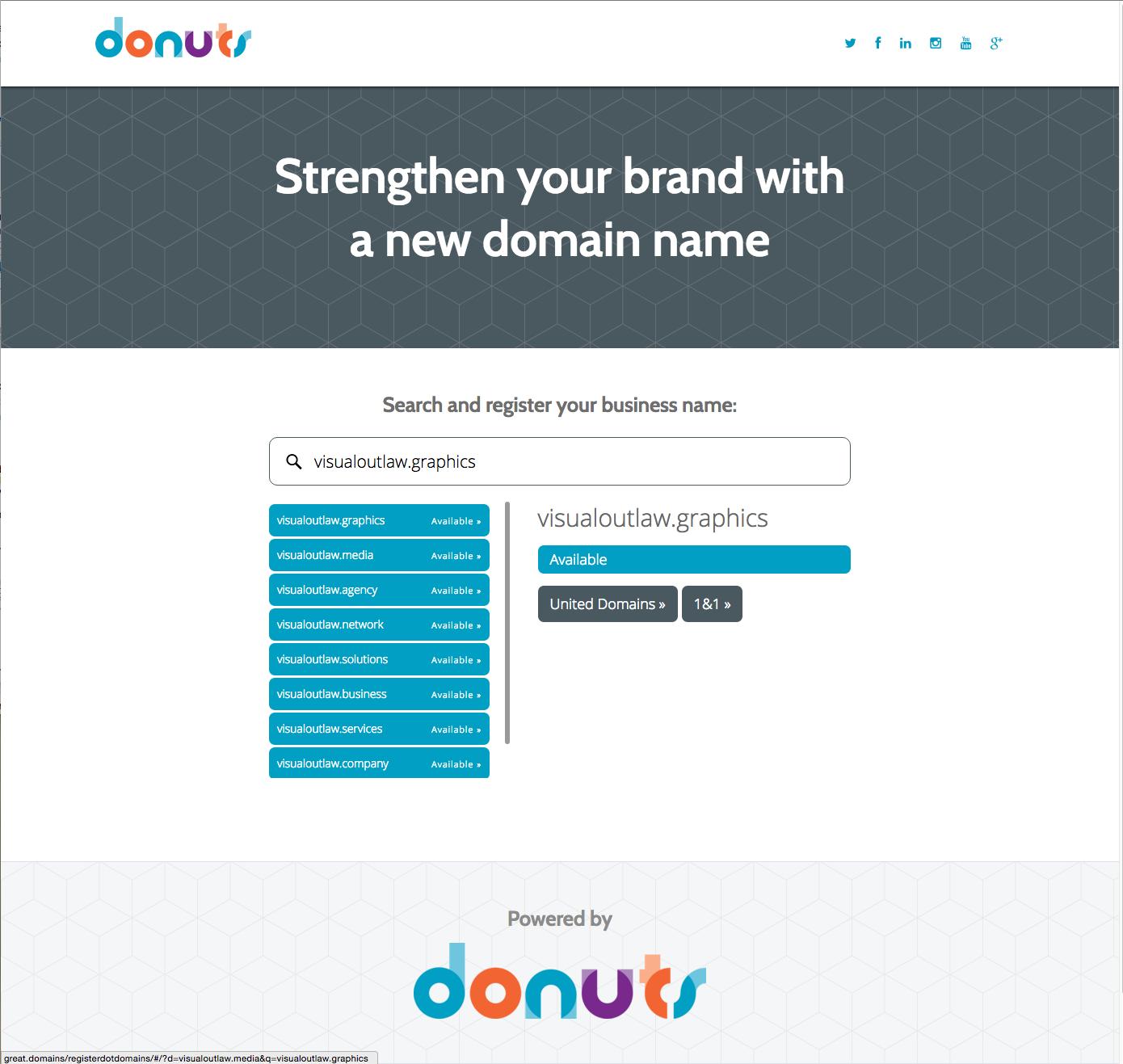 Register.Domains Website