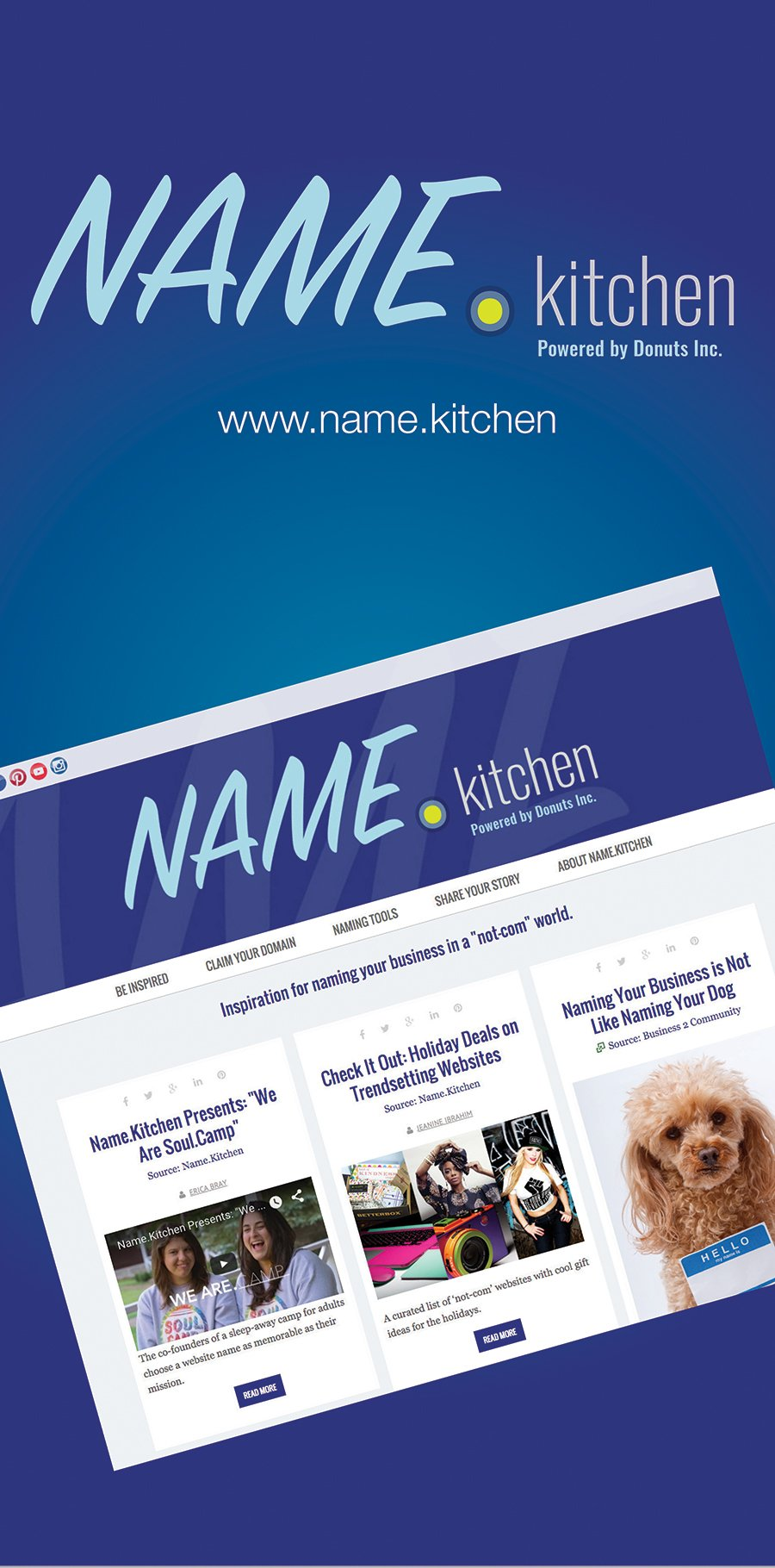 Name.Kitchen Banner Stand